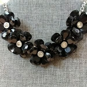 Jewelry - Floral statement with rhinestones